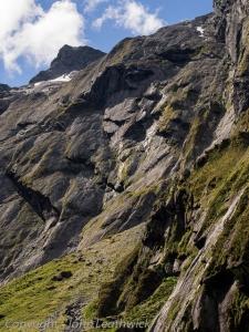 Mountain Cliffs near Crucible Lake