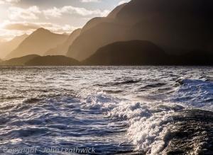Leaving Breaksea Sound