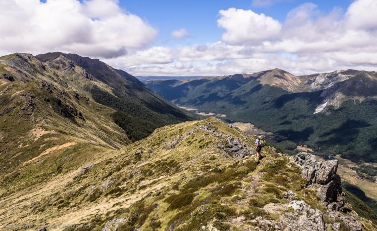 Cobb Valley from the Lockett Range