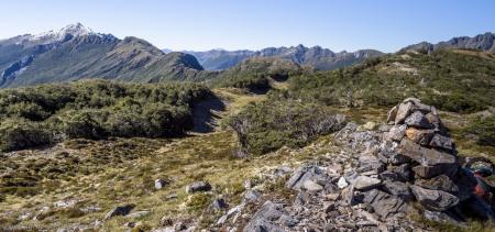 Southeast along the Lockett Range