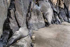 Rocks and sand - Port William