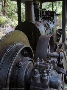 Historic log hauler - Port William
