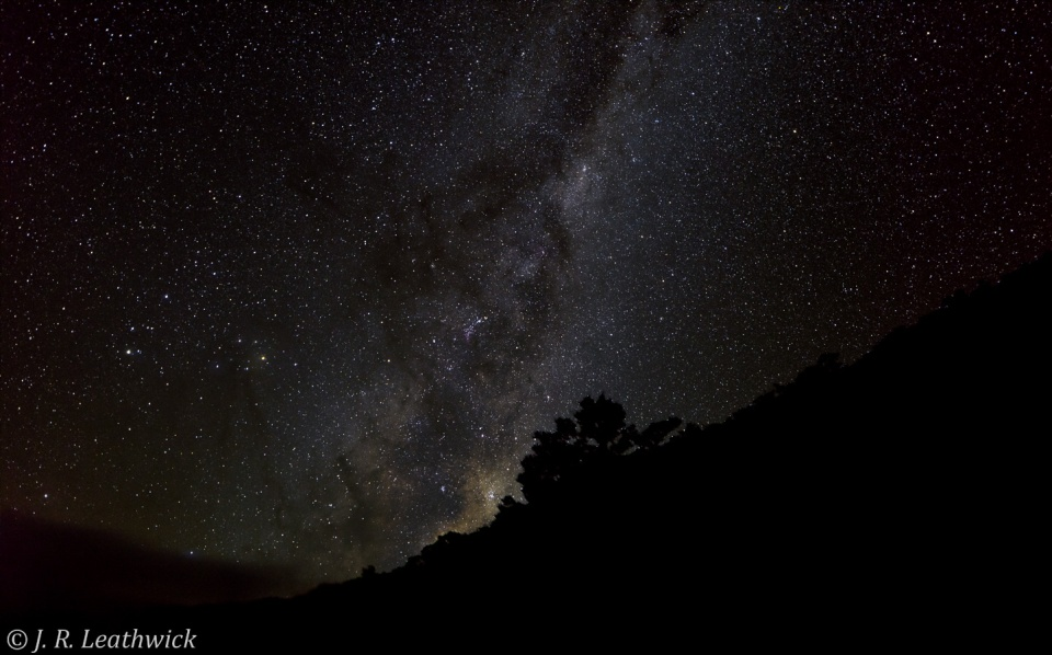 The Milky Way revealed...